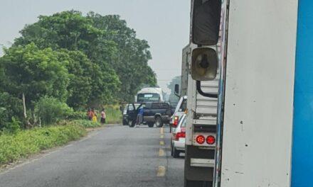 Persona atropellada en la carretera San Rafael – Martínez de la Torre