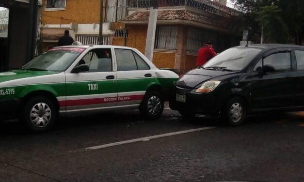 Accidente de tránsito en la avenida Manuel Ávila Camacho