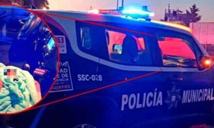 Video:Bebé es abandonado en batea de camioneta en la Central de Abastos de Puebla