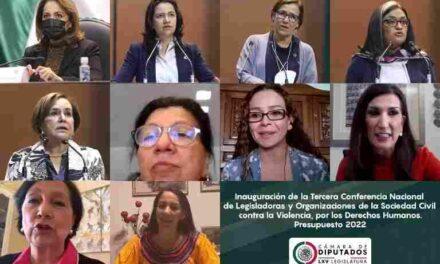 Piden que el Presupuesto de Egresos de la Federación 2022 sea justo y en favor de mujeres y niñas