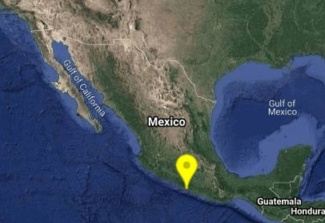 Sismo de magnitud 4.5 en Guerrero