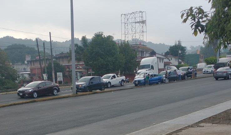 Carambola en el bulevar Banderilla – Xalapa