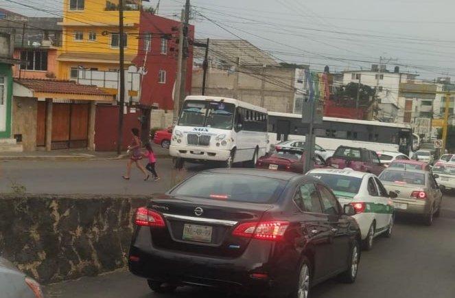 Accidente de tránsito en la zona de Jardines, Xa