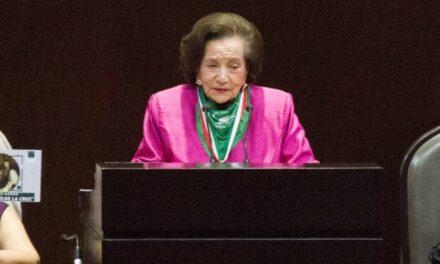 ¿Quién es Ifigenia Martínez, política que recibirá la Medalla Belisario Domínguez?