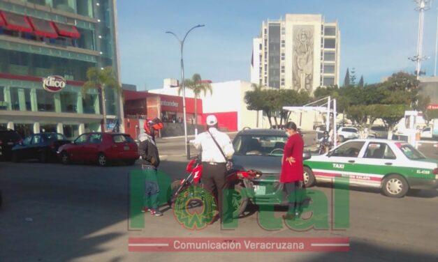 Accidente de tránsito sobre la avenida Antonio Chedraui Caram, a la altura de Plaza Cristal
