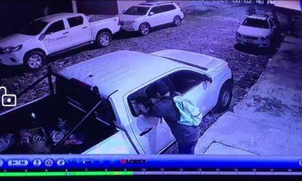 Vide:Cristalean vehículo en la colonia Federal en Xalapa