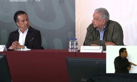 Hemos invertido mil 586 mdp en apoyos a personas afectadas por el Huracán Grace en Veracruz: Andrés Manuel López Obrador