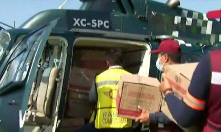 LLevan víveres a 1, 300 familias afectadas por las recientes lluvias en Lerdo de Tejada y algunas localidades de Saltabarranca